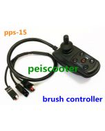 50A brushed wheelchair scooter dc motor joystick controller with electromagentic brake pps-15