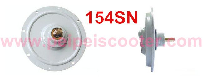brushed printed winding dc motor 154SN 56w-250w