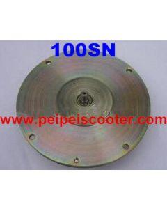 brushed printed circuit dc motor 100SN 40w-100w