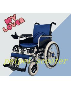 10inch 22inch comfortable foldable electric wheelchair (PPSE-gh4)