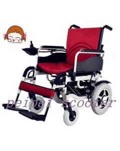 8inch 12inch comfortable foldable electric wheelchair (PPSE-gh2)