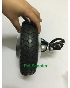 8 inch 8inch single shaft brushless geared dc hub wheel motor for scooter motor phub-175
