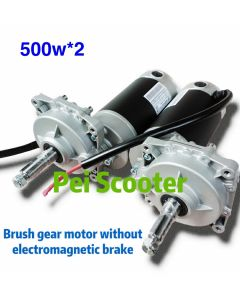 1000w brushed geared electric balance scooter dc motor 500w*2 without electromagnetic brake PESM78S