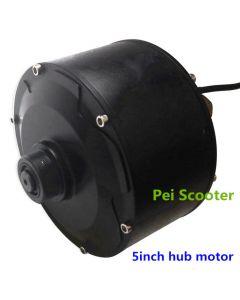 5 inch brushless non-gear hub motor wheel for bike scooter phub-5wn