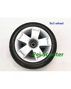 9x3 tyre hub wheel for wheelchair DIY motor and scooter motor phub-9nwt
