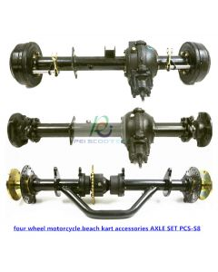 Self made and refitted four wheel motorcycle,beach kart accessories AXLE SET PCS-S8