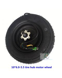 10inch 10*6.0-5.5 tire BLDC brushless gearless electric scooter hub drive wheel phub-510