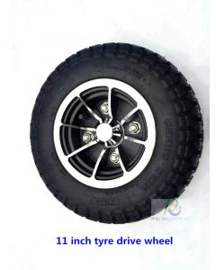 11 inch tyre wheel for wheelchair robot motor phub-11zw
