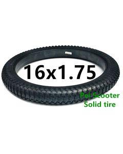 16 inch solid tyre for hub motor kit phub-16nst