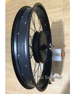 1500w to 2000w brushless hub wheel motor for snowtruck phub-185S