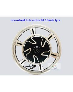 18inch tyre one-wheel hub motor BLDC Brushless non-gear kind double axles phub-82d