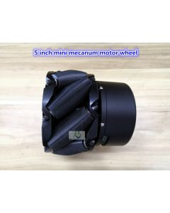 5 inch mecanum wheel brushless non-gear electric robot scooter hub motor phub-mw5