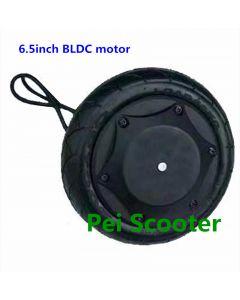 6.5inch brushless gearless single shaft hub motor for DIY scooter hub motor with encoder phub-65e
