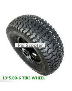 13 inch tire 13*5.00-6 free wheel phub-13MF