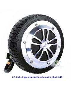 6.5 inch single axle servo hub motor phub-65S