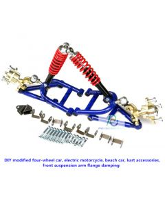 DIY modified four-wheel car,electric motorcycle,beach car,kart accessories,front suspension arm flange damping PCS-L1
