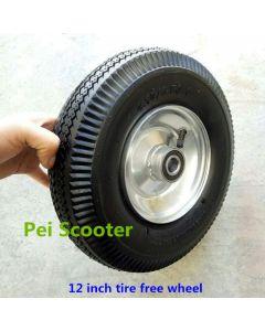 12 inch 12inch 350/400-6 tyre free wheel phub-12FW