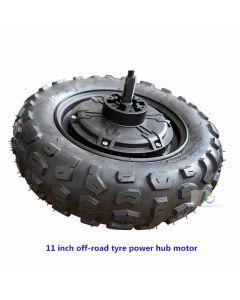 11 inch off-road tyre brushless power-torque hub motor phub-11tm