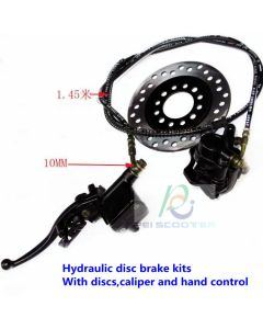 hydraulic disc brake kits with discs,caliper and hand control pphb-01
