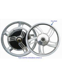 14 inch tire BLDC double shafts brushless gearless hub motor fit disc brake scooter hub motor phub-514