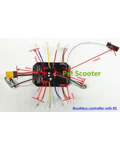 Brushless dc motor controller with RC ppr-01