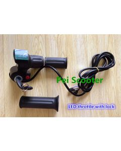 LED Throttle with lock ppth-08c