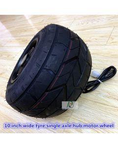 10 inch 10x6-5.5 wide tyre Singel axle brushless gearless hub motor wheel,balance scooter hub motor,hally motor phub-188a