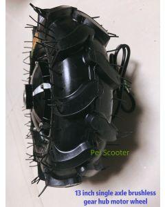 13 inch 13inch off-road tyre low speed high torque single axle Brushless gear hub motor wheel phub-sg13