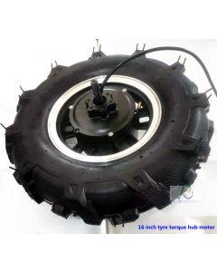 16 inch tyre brushless gear low-speed power-torque hub motor phub-16ps