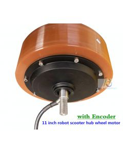 11 inch robot scooter hub wheel motor with Encoder phub-11xn