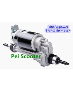 1000w Brushed gear mobility scooter transaxle motor with electromagnetic brake PPSM635L