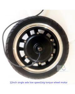 12 inch single axle brushless geared electric wheelchair roblt wheel motor phub-12k