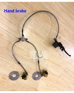 Electric motorcycle Hand brake with two disc brakes PHB-01