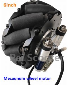 6 inch 6.5inch mecanum wheel brushless non-gear electric robot scooter hub motor phub-mw6