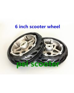 6 inch scooter hub wheel with tire phub-6w