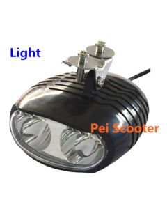 power bike scooter front light with horn hl-119