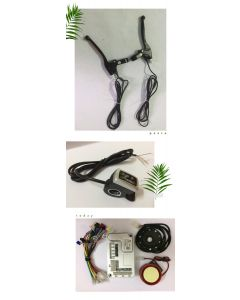 30A brushless dc motor controller diy packing,and LED throttle,and brake lever ppk-02