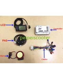 brushless motor LCD controller ebike conversion kit diy-01