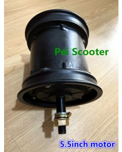5.5inch double axles brushless gearless hub motor,Electric motorcycle scooter motor,halley motor phub-240