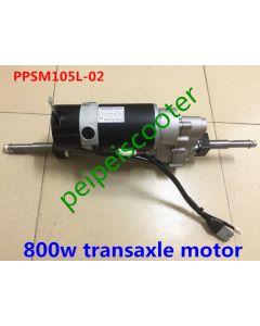 24V 800W brushed gear mobility scooter transaxle motor With Electromagnetic Brake EMB PPSM105L-02