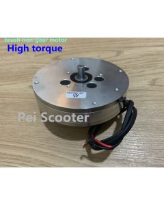 high torque brush non-gear hub wheel printed motor phub-p9