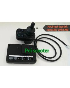 70A brush wheelchair scooter dc motor joystick controller with electromagnetic brake pps-11