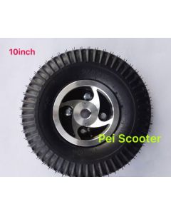 10 inch pneumatic tyre for transaxle motor mobility scooter kit phub-10nt