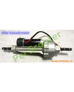 400w brushed gear mobility scooter transaxle motor with electromagnetic brake Differential motor PPSM46L-01
