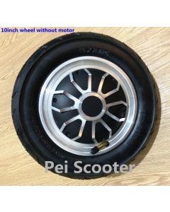 10 inch 10inch single shaft hub wheel with 10x2.125 tyre or 10x2.5 tyre phub-350f