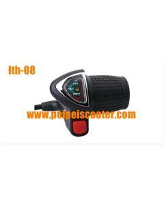 switch led battery indicator throttle lever lth-08