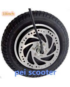 10inch 10 inch brushless gear dc scooter hub wheel motor phub-157