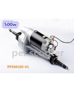 500w transaxle scooter motor Rear axle gear reducer brush gear motor PPSM100-01