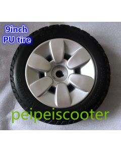9 inch 9x3.0-6 electric wheelchair PU tyre ppwt-02