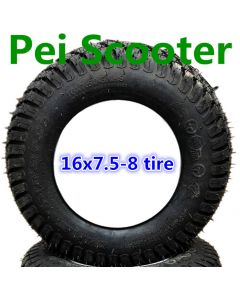 16inch 16 inch 16*7.5-8 aluminum alloy hub wheel tires for wheelchair scooter robot motor phub-16sst